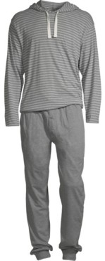 Hanes Men's 1901 Hoodie and Jogger Pant Set