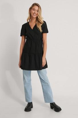 NA-KD Puff Sleeve A-line Dress