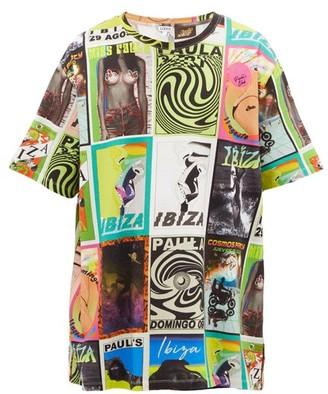 Loewe Paula's Ibiza - Psychedelic Flyer-print Cotton Jersey T-shirt - Multi