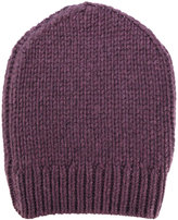 Eleventy ribbed detail beanie - men - Cashmere - One Size