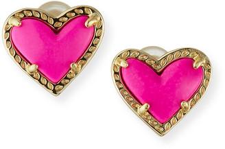 Kendra Scott Ari Heart Stud Earrings