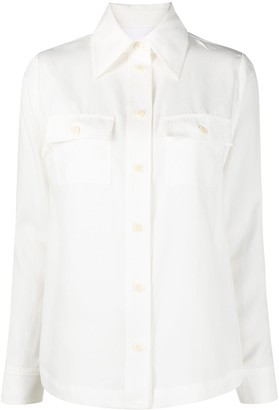 REMAIN Long-Sleeved Button-Up Shirt