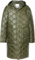 Yoshio Kubo quilted hooded coat