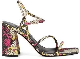 Nine West Gellar Block Heel Sandals