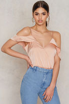 Cold Shoulder Cami Thong Bodysuit