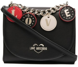 Love Moschino Chain-Link Detail Shoulder Bag