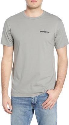 Patagonia Knobby Lines Graphic Organic Cotton T-Shirt