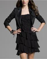 Silk Chiffon Rose Dress