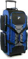"Fila ""Blue Large 32"""" Check-In Rolling Duffel Bag"""