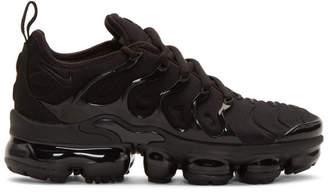 Nike Black Air Vapormax Plus Sneakers