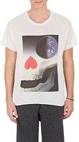 The Elder Statesman Men's Graphic Cashmere-Silk T-Shirt