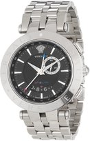 "Versace Men's 29G99D009 S099 ""V-Race"" Stainless Steel Watch"