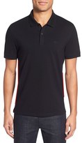 BOSS Men's 'Pallas' Regular Fit Logo Embroidered Polo Shirt