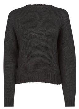 Dorothy Perkins Womens Vero Moda Black Wool Look Jumper, Black