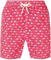 Mc2 Saint Barth shark print swimming shorts