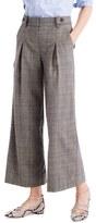 J.Crew Women's Pleat Crop Wide Leg Pants