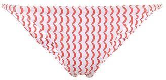 ASCENO Biarritz wave-print bikini bottoms