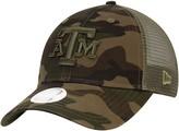 New Era Women's Camo Texas A&M Aggies Trucker 9TWENTY Adjustable Hat