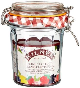 Kilner Facetted Clip Top Jar (0.45L)