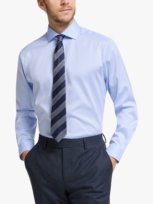 John Lewis & Partners Non Iron Twill Regular Fit XL Sleeve Shirt