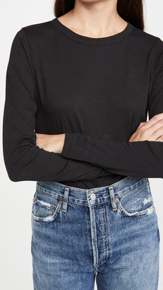 Madewell Whisper Long Sleeve Shout Tee