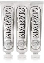 Marvis Whitening Toothpaste, 3 X 75ml - Colorless