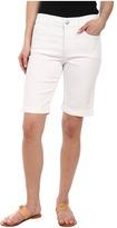 NYDJ Petite Petite Briella Short in Optic White