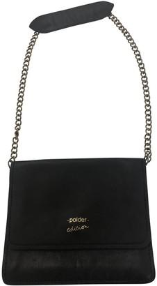 Polder Black Leather Handbags