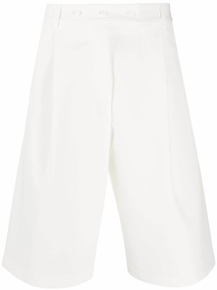 Maison Flaneur Wide-Leg Shorts