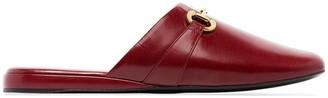 Gucci Horsebit detail slippers