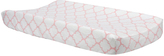 Trend Lab Pink Sky Quatrefoil Changing Pad Cover
