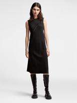DKNY Asymmetrical Twill Dress