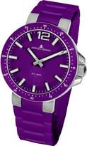 Jacques Lemans Women's Quartz Watch Milano 1-1709K with Rubber Strap