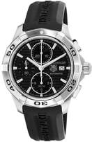 Tag Heuer Men's Aquaracer Chronograph Dial Watch Black CAP2110.FT6028