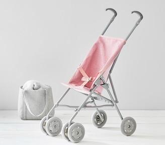 Pottery Barn Kids Pink Glitter Umbrella Doll Stroller