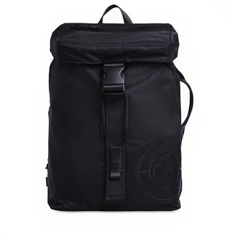 Calvin Klein Black Backpack With Flap