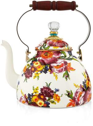Mackenzie Childs Flower Market Enamel Tea Kettle