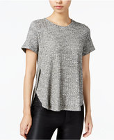 Bar III Ribbed High-Low Top, Only at Macy's