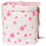 Noe & Zoe Berlin Pink Star and Stripe Print Cot Bumper
