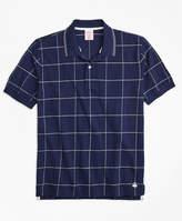 Brooks Brothers Slim Fit Windowpane Polo Shirt