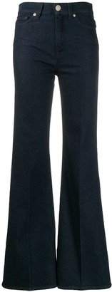 7 For All Mankind five-pocket flared trousers