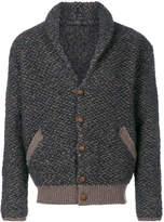 Lardini shawl collar cardigan