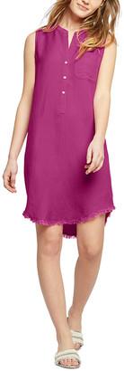 Nic+Zoe Linen-Blend Dress