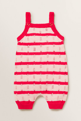 Seed Heritage Knitted Stripe Romper