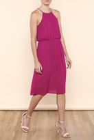 Everly Halter Berry Dress