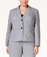 Kasper Plus Size Two-Button Blazer