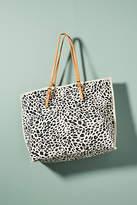Anthropologie Leopard-Printed Tote Bag