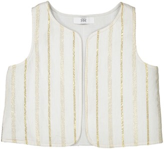 La Redoute Collections Reversible Waistcoat, 1 Month-3 Years