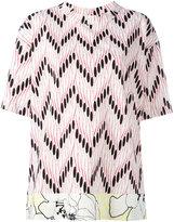 Marni oversized printed T-shirt - women - Cotton - 38