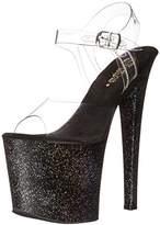 Pleaser USA Women's TAB708MG/C/B Platform dress Sandal